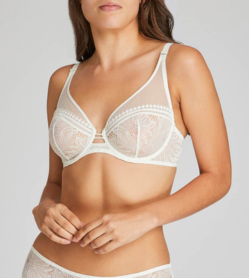 Full Cup Plunge Bra
