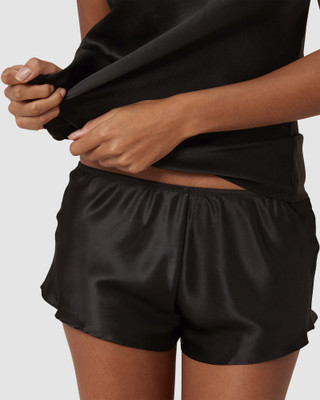 Night Short Silk Short
